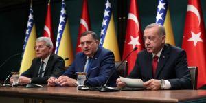 Türk Akımı projesinin Bosna Hersek'e intikali için her türlü desteği vereceğiz