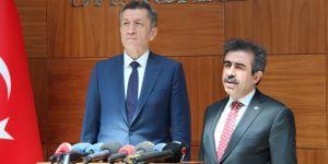 Milli Eğitim Bakanı Ziya Selçuk Diyarbakır'da