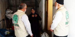 Gaziantep Umut Kervanı ramazan yardımlarına başladı