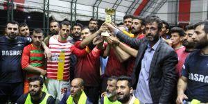 Diyarbakır'da köyler arası futbol turnuvasının final maçı oynandı