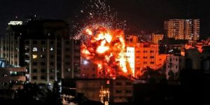 Zionists hit Anadolu Agency's office in Gaza