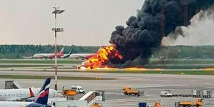 Death toll on flamed aircraft during an emergency landing rose to 41