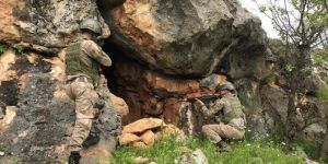 Diyarbakır'da PKK'ye ait mühimmat ve esrar ele geçirildi