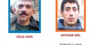 Tunceli'de öldürülen 2 PKK'liden biri mavi diğeri turuncu kategoride