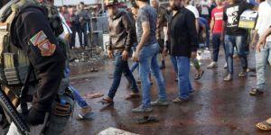 Bağdat'ta patlama: 8 ölü 15 yaralı