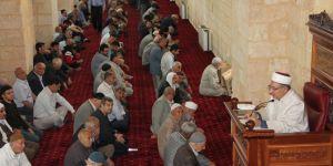 Mardin'de Ramazanın ilk cuma namazı heyecanı