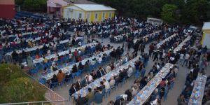 Viranşehir'deki kardeşlik sofrasına büyük ilgi