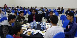 Siirt'te muhacirler iftar sofrasında buluşturuldu