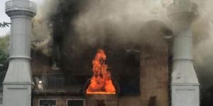 Arson attack causes major damage in mosque in the US