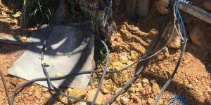 Mardin'de kablo hırsızlığı