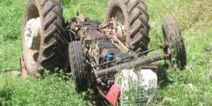 Araban'da traktör devrildi: 1 kişi hayatını kaybetti
