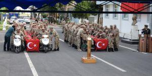 Şanlıurfa'da engelliler bir gün temsili askerlik yaptı