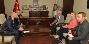 ABD Adana Konsolosu Alejandro Baez, HDP'li başkan ile görüştü