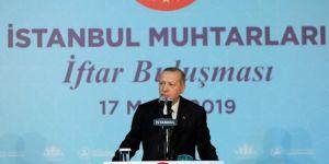 President Erdoğan shares iftar with mukhtars