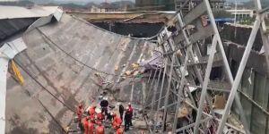 Çin'de gece kulübünün çatısı çöktü: 3 ölü 100 yaralı