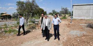 Halil İbrahim Türbesi alanı mesire alanına dönüşüyor
