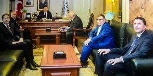 Batman Üniversitesi Rektörü Aydın Durmuş Başdenetçi Malkoç'a ziyaret