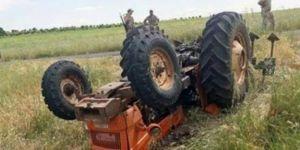 Hilvan'da traktörün altında kalan genç hayatını kaybetti