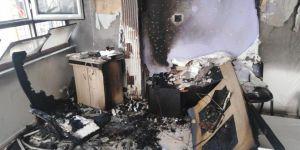 Viranşehir TV ile Viranşehir Gündem Gazetesi'nin binasında yangın