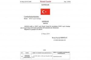 KGYK'nın görev ve yetkileri İçişleri Bakanlığına verildi