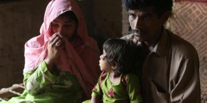 Hundreds of children are infected with HIV causing AIDS in Pakistan