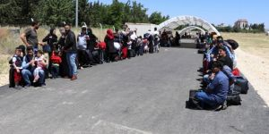 9 bin Suriyeli bayram için ülkesine geçti