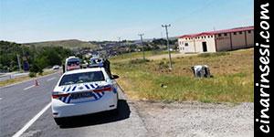 Çarıklı yakınlarında minibüs yolcu minibüsüne arkadan çarptı: Biri ağır 5 yaralı