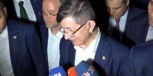Ahmet Davutoğlu yeni parti iddialarına cevap verdi