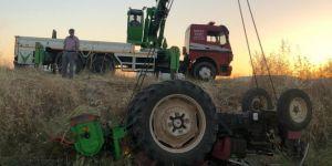 Nusaybin'de traktörün altında kalan şahıs hayatını kaybetti