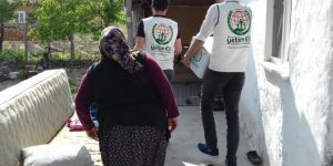 Avusturya'da yaşayan hayırseverlerin yardımları yerine ulaştı