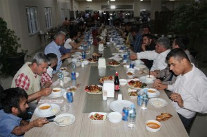 Silopi'de engellilere yönelik iftar