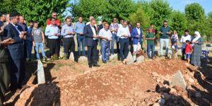 Bombalı saldırıda katledilenler mezarları başında anıldı
