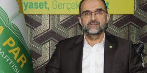 HÜDA PAR Genel Başkanı Sağlam'dan Kadir Gecesi mesajı