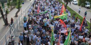Diyarbakır Özgür Kudüs için yürüdü