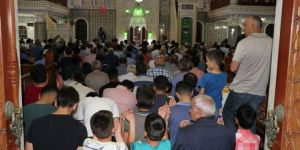 Batman'daki camiler'de İslam ümmeti için dualar edildi