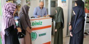 Şehitkâmil Anadolu Kız İHL öğrencilerinden anlamlı bağış