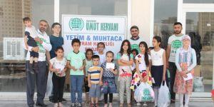 Mardin Umut Kervanından etimlere bayram harçlığı