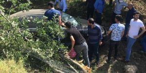Bingöl Kültür Mahallesi'nde kaza: 2 yaralı