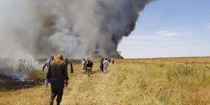 BM: Suriye'de tarım alanları ateşe veriliyor