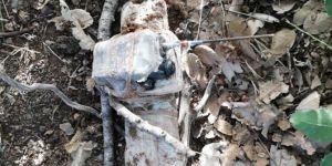 Eruh'ta telsiz komutalı patlayıcı ele geçirildi