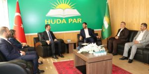 AK Parti ve Saadet Partisinden HÜDA PAR'a bayram ziyareti