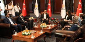HÜDA PAR'dan AK Parti ve Saadet Partisi'ne ziyaret