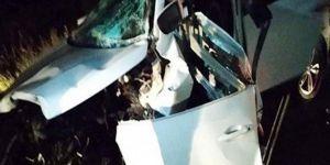 Baba-anne ve 3 çocuk aynı kazada hayatını kaybetti