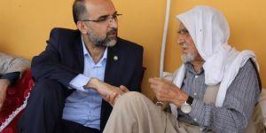 HÜDA PAR Genel Başkanı Sağlam'dan şehid ailelerine bayram ziyareti