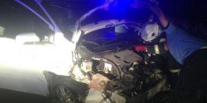 Nurdağı'nda kaza: 9 yaralı