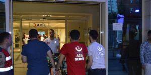 Şirvan'da uçaksavarla manevra atışı yapan astsubay yaralandı