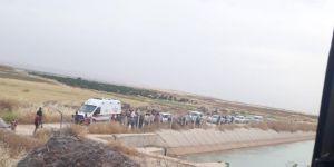 Suruç Aligör'de sulama kanalına düşen genç kayboldu