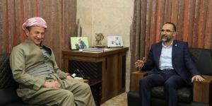 HÜDA PAR Genel Başkanı Sağlam'dan Şeyh Ethem Barzani'ye ziyaret