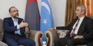 HÜDA PAR Genel Başkanı Sağlam Türkmenlerle bir araya geldi