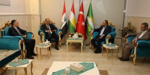 Kürdistan Demokrat Partisi'nden HÜDA PAR'a ziyaret